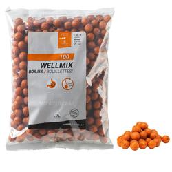 bouillettes pêche de la carpe wellmix monstercrab 14 mm 1 kg