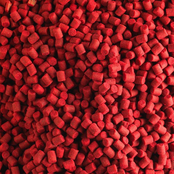 Pellets voor karperhengelen Xtrem Carp Pellets 3 kg 4 mm aardbei