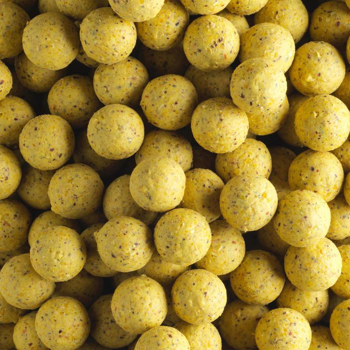 bouillettes pêche de la carpe WELLMIX 14 mm PINEAPPLE 1 kg