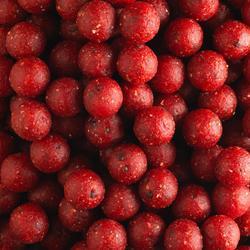 bouillettes pêche de la carpe wellmix 14 mm Strawberry 1 kg