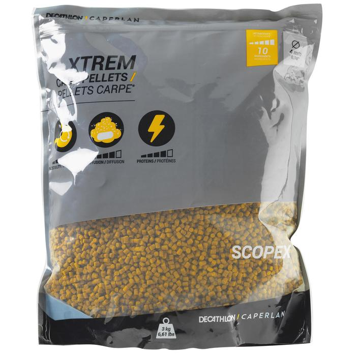 Xtrem Carp Pellets 4 mm Scopex 3 kg
