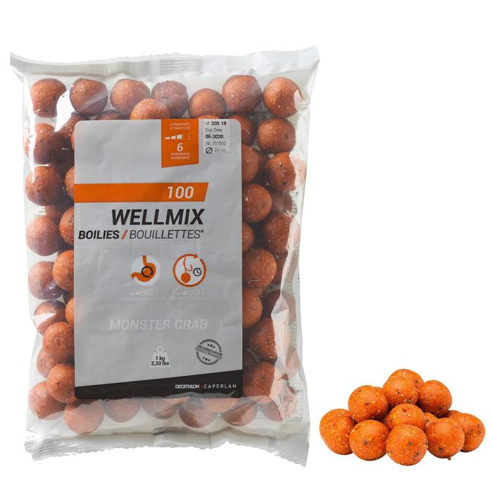 Wellmix Boilies Monstercrab 24 mm 1 kg