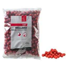 bouillettes pêche de la carpe wellmix 14 mm Strawberry 1 kg