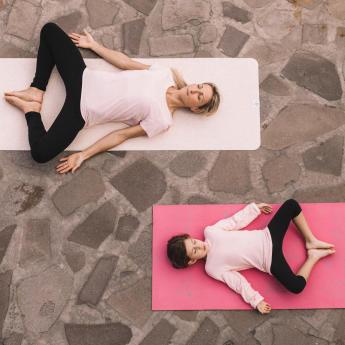 yoga moeder