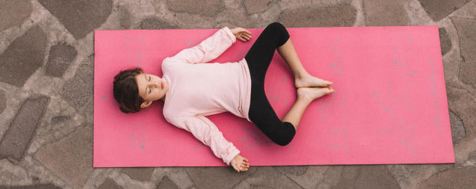 méditation guidée enfant yoga