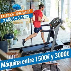 EXTENSIÓN DE GARANTÍA DOMYOS - MÁQUINA DE 1500€ A 3000€