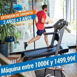EXTENSIÓN DE GARANTÍA DOMYOS - MÁQUINA DE 1000€ A 1499,99€