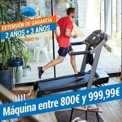 EXTENSIÓN DE GARANTÍA DOMYOS - MÁQUINA DE 800€ A 999,99€