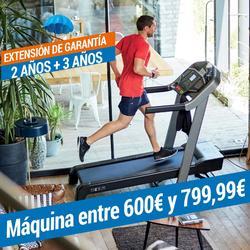 EXTENSIÓN DE GARANTÍA DOMYOS - MÁQUINA DE 600€ A 799,99€