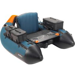 Belly-boat pesca artificiali FLTB-5 azzurro-arancione