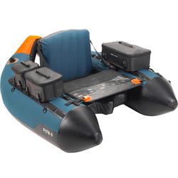 Float Tube Pesca Con Señuelos FLTB-5 Azul/Naranja
