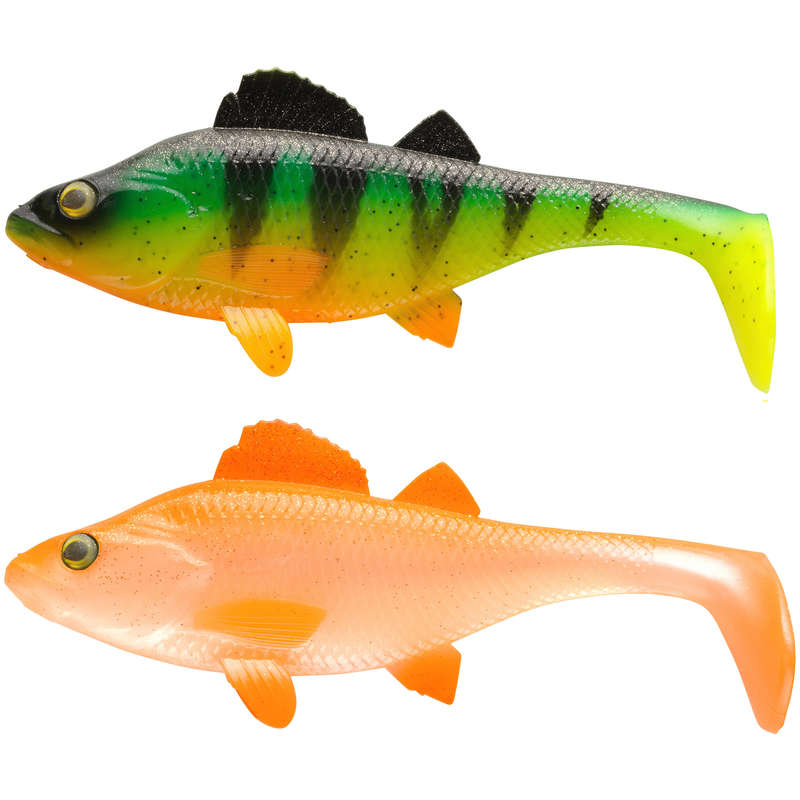 FISHING SOFTBAITS OVER 10 CM Fishing - PERCH KIT 170 firetiger/orange CAPERLAN - Pike and Predator Fishing