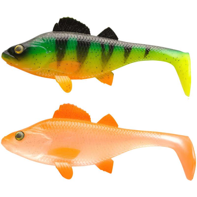 MĚKKÉ NÁSTRAHY NAD 10 CM Lov dravých ryb - SADA KIT PERCH 170 RTC CAPERLAN - Nástrahy a bižuterie