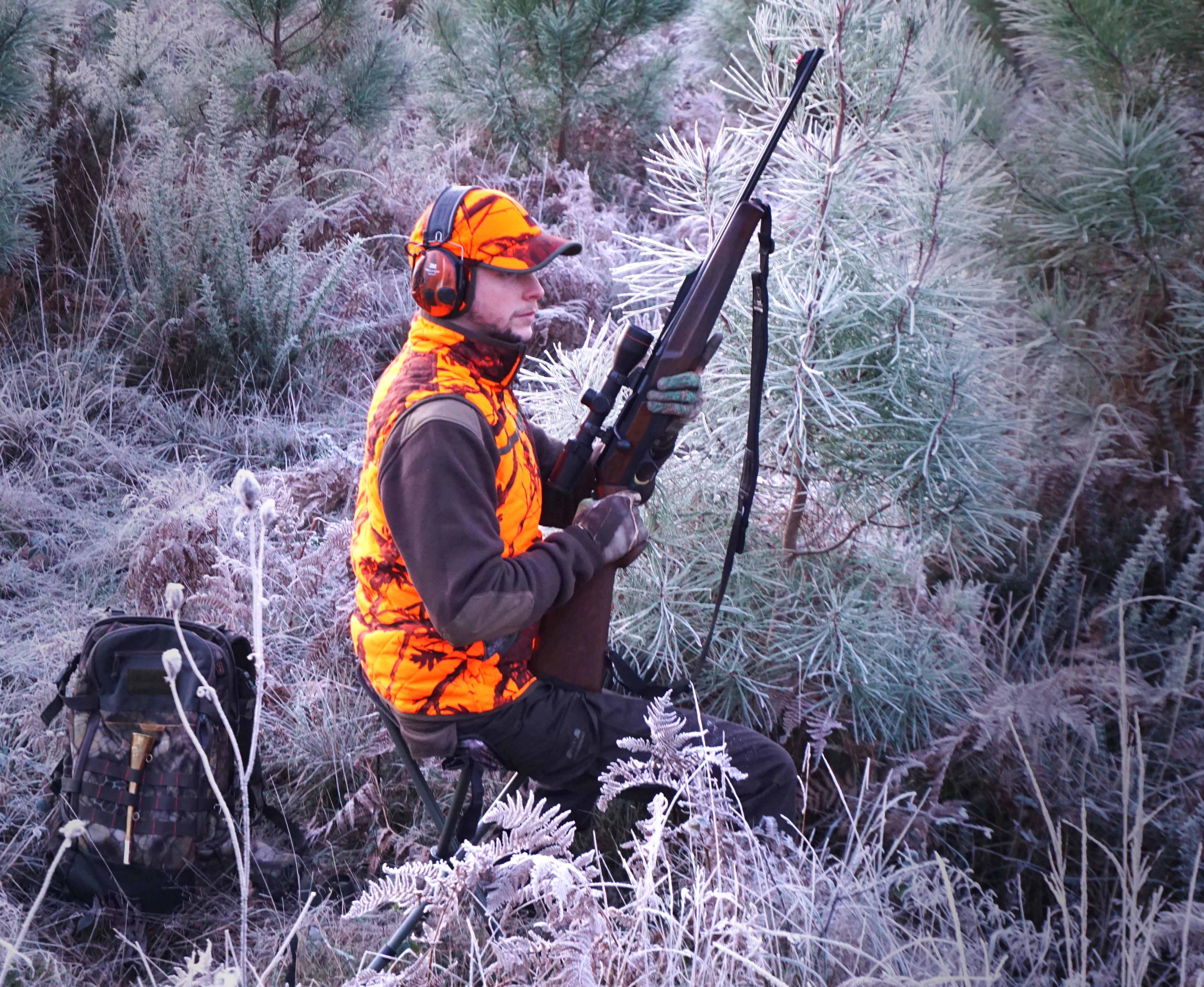 Pull chasse 300 marron