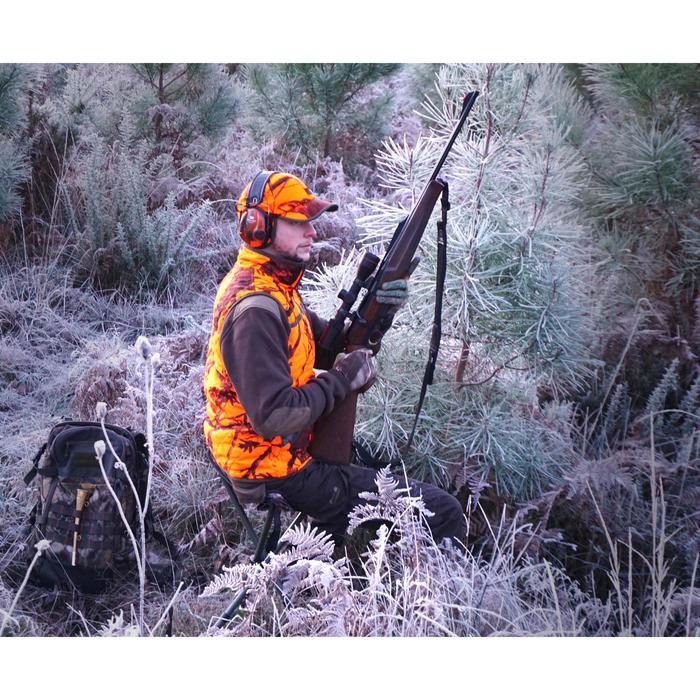 Trépied chasse télescopique acier camouflage marron