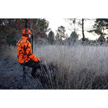 Telescopisch driepootkrukje voor de jacht camouflage bruin