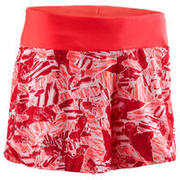 SHORT ATLETISMO MUJER RUN DRY ESTAMPADO CORAL