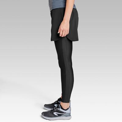 Тайтси-шорти Run Dry+ жіночі для бігу - Чорні