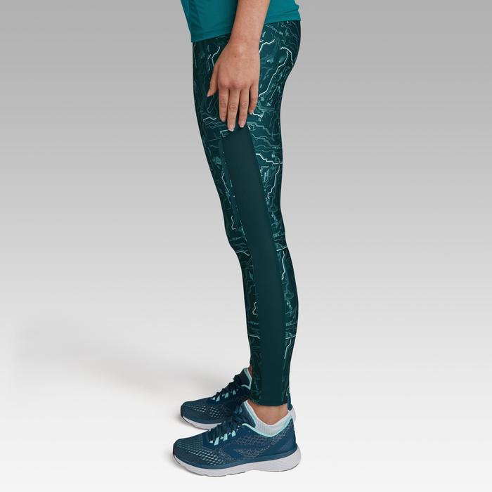Run Dry+ Women's Running Tights - Dark Green