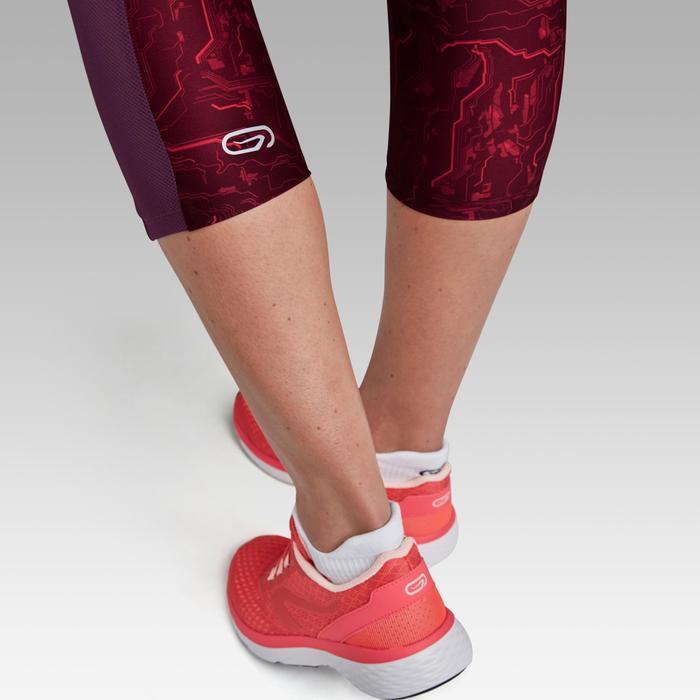 Dames kuitbroek voor jogging Run Dry+ bordeaux