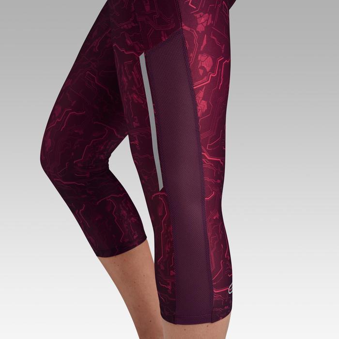 Hardloopkuitbroek voor dames Run Dry+ bordeaux