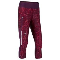 Kuitbroek voor jogging dames Run Dry+ bordeaux