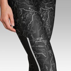 Dames kuitbroek voor jogging Run Dry+ zwart