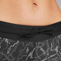 Run Dry+ Women's Running Cropped Bottoms - Black