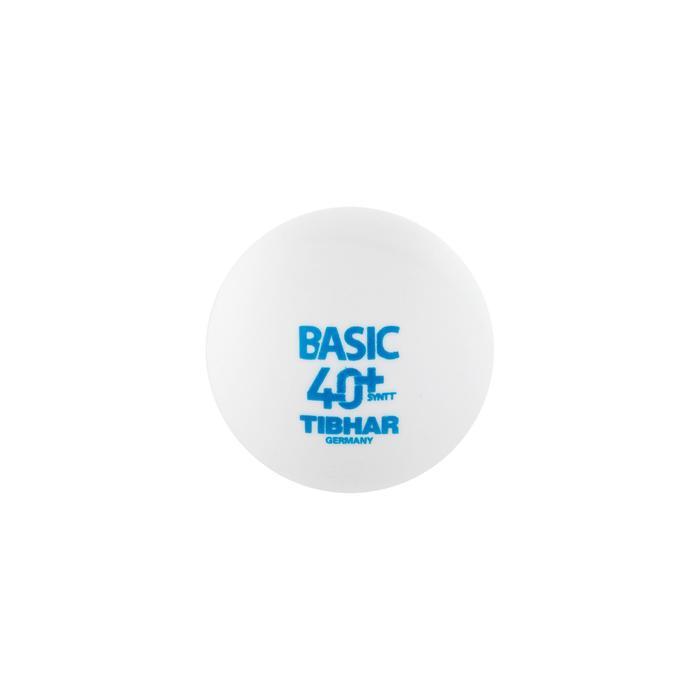 Tafeltennisballen basic 4+ X72 wit
