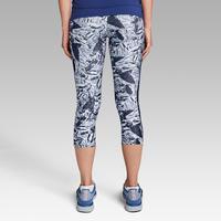 Run Dry+ Women's Running Cropped Bottoms - Blue
