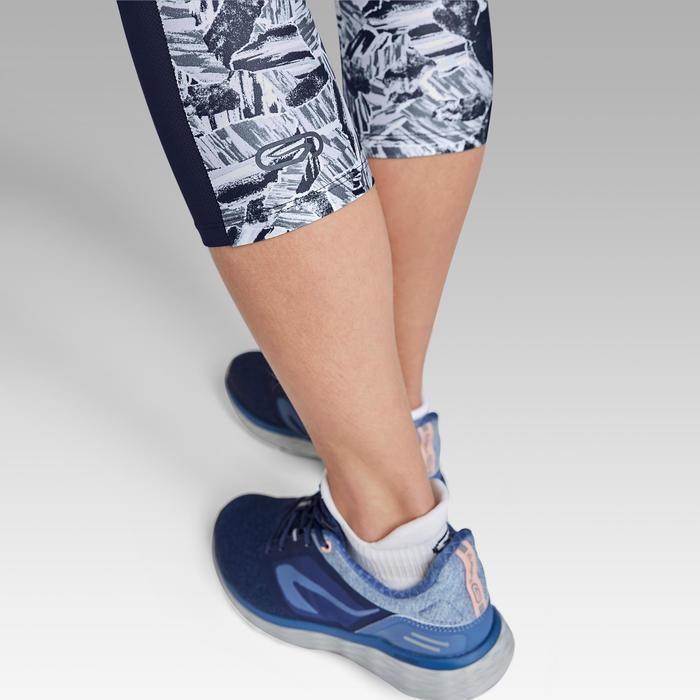 Laufhose 3/4 Tights Run Dry+ Damen blau