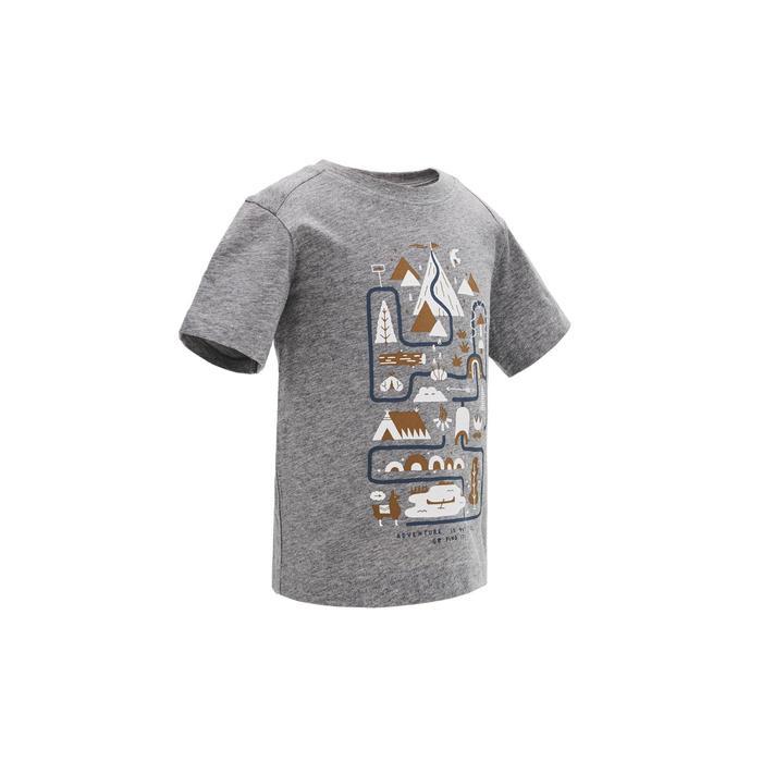 MH100 Children's Hiking T-shirt - Grey