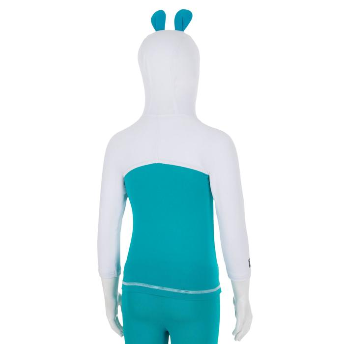 嬰兒款抗UV連帽T恤100