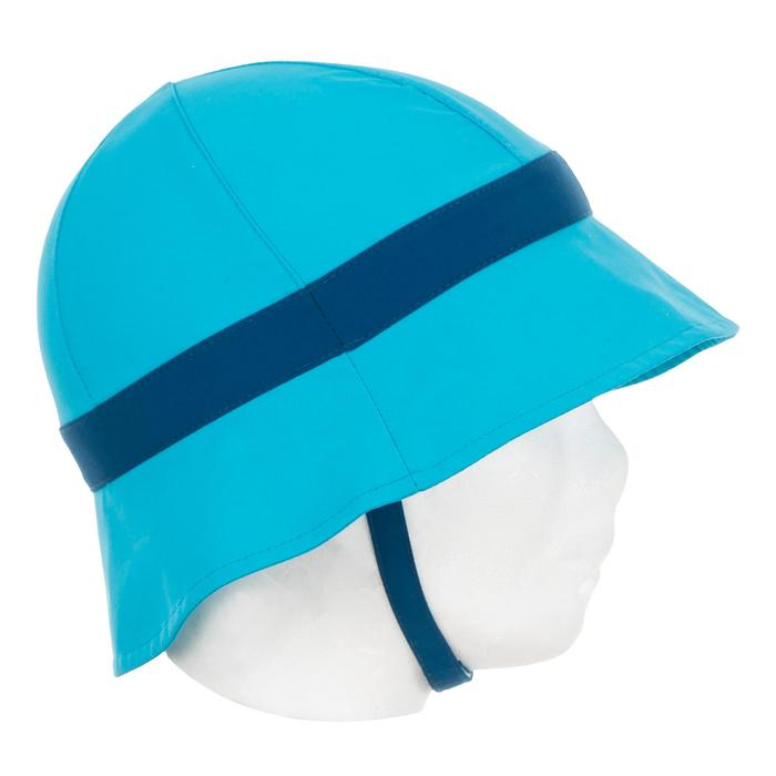 Zonnehoedje baby UV werend grijs blauw