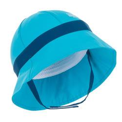 Chapeau anti UV surf bébé bleu