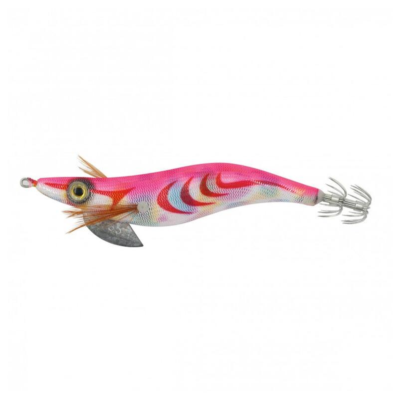 Sea shell squid jig pink cuttlefish/squid fishing jig