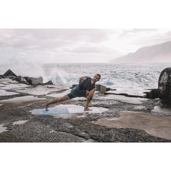 Esterilla/Sobreesterilla Viaje Yoga Domyos 1,5 mm Estampado Montañas
