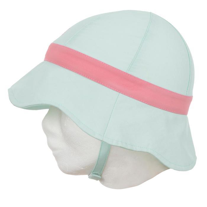 Chapeau anti UV surf bébé parme