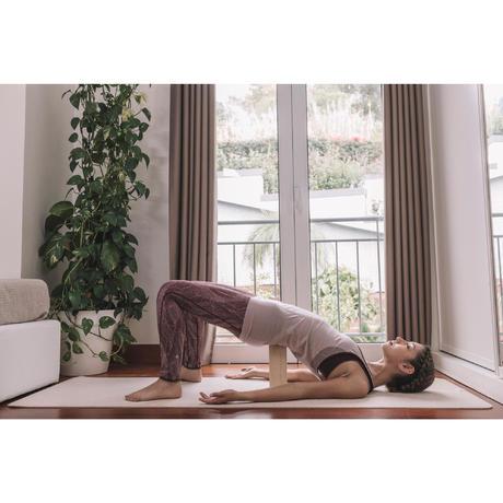 66a9a32d2 Tapis de yoga caoutchouc naturel   jute 4 mm beige. Previous. Next