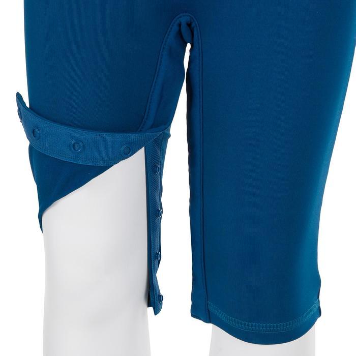 Uv-werende shorty met korte mouwen voor peuters blauw