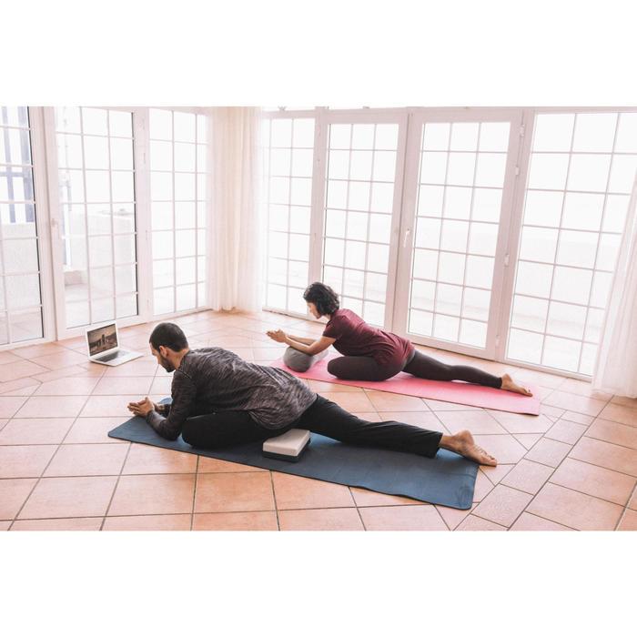 Matje Club voor zachte yoga 5 mm blauw