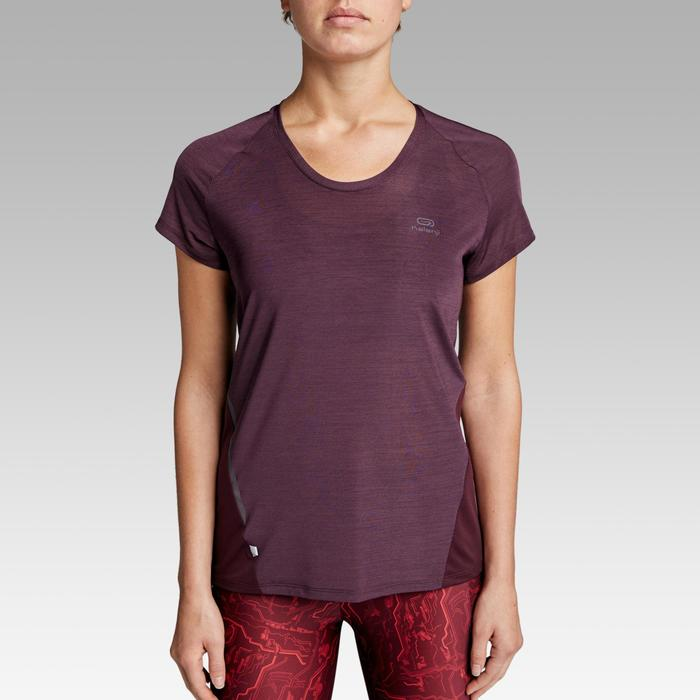 T-SHIRT JOGGING FEMME RUN LIGHT PRUNE