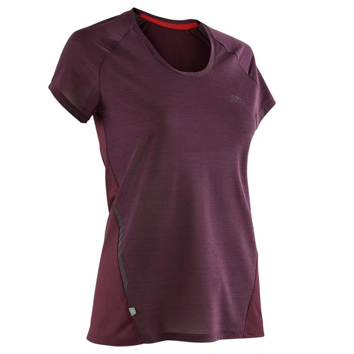 CAMISETA DE RUNNING PARA MUJER RUN LIGHT CIRUELA