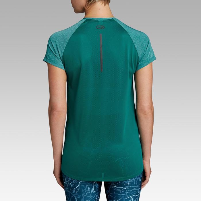 Dames T-shirt voor jogging Run Light groen