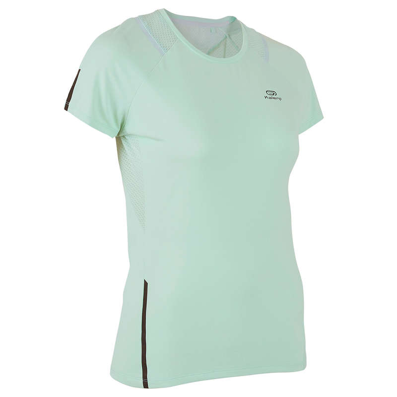 REGULAR WOMAN JOG WARM/MILD WHTR CLOTHES Clothing  Accessories - Women's TS Run Dry+ KALENJI - Clothing  Accessories