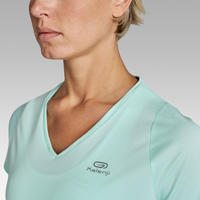 Run Dry Women's Running T-shirt - Light green