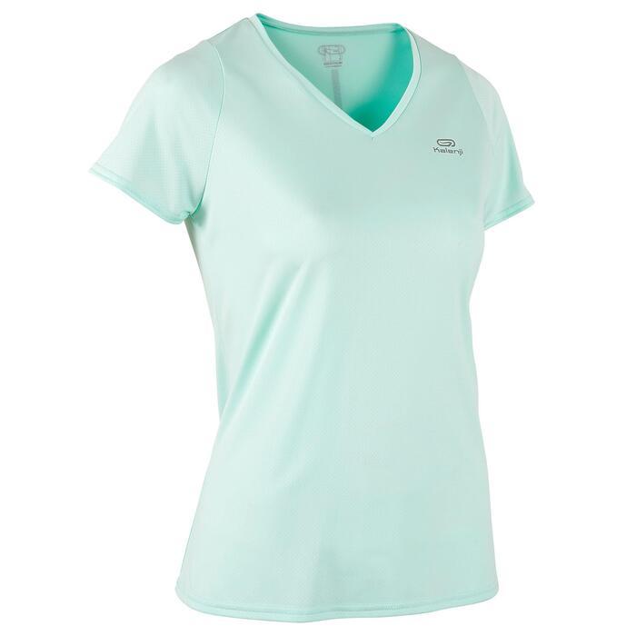 Joggingshirt voor dames Run Dry lichtgroen