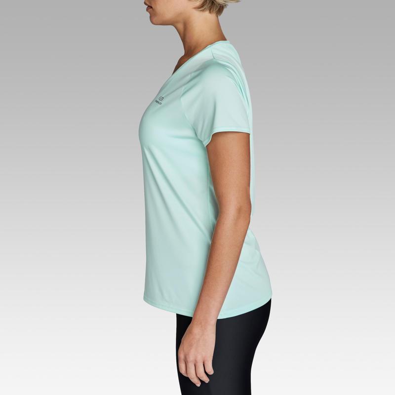 Run Dry Women's Running T-shirt - Light green