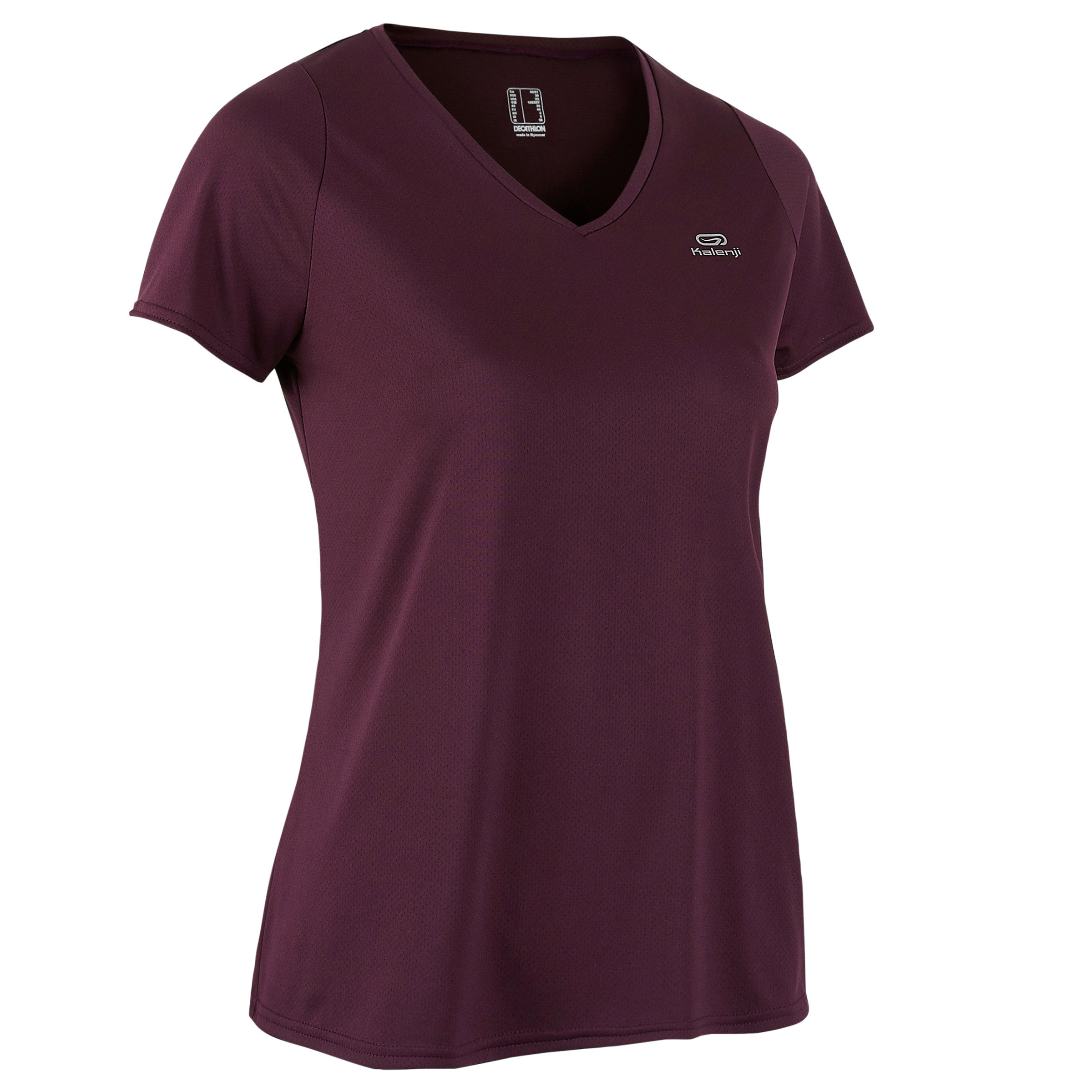 Run Dry Women's Running T-shirt - Plum