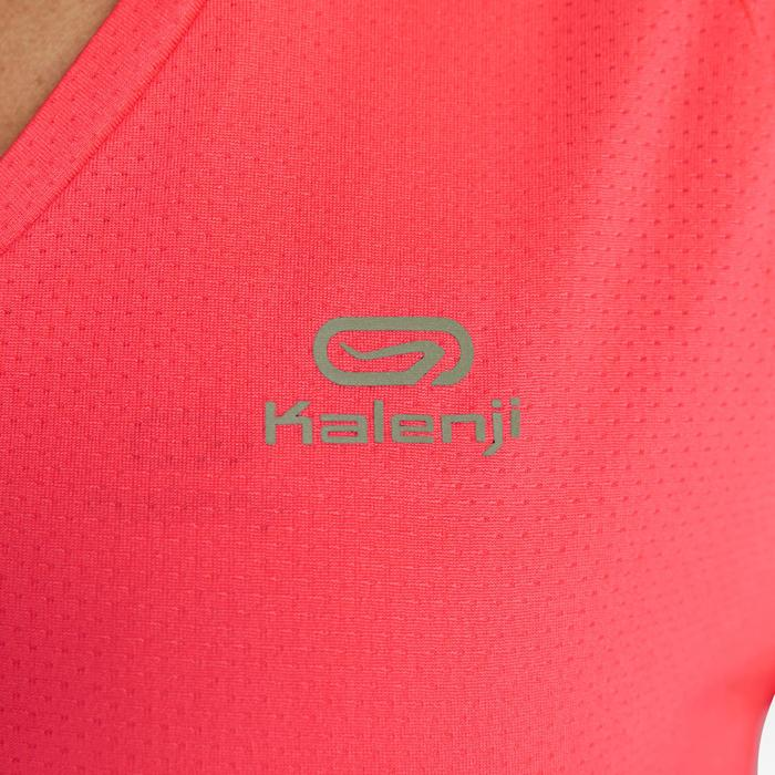 Joggingshirt voor dames Run Dry koraalrood